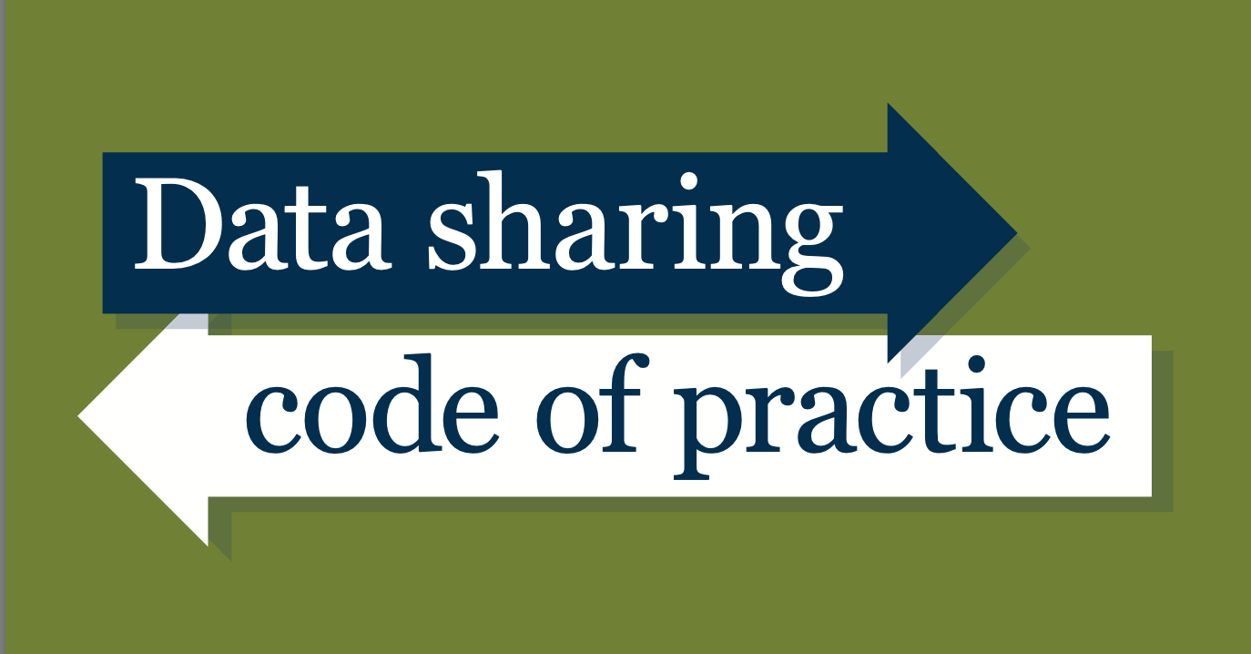 screenshot of ICO code of practice on data sharing